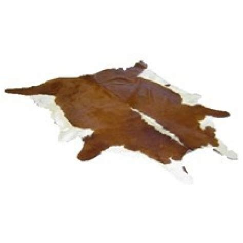 White Cowhides by Cow Hide Brown And White