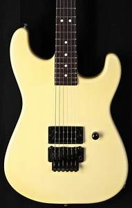 1986 Charvel Model 2 Pearl White