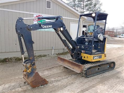 john deere  mini excavator  hours  sale  united states