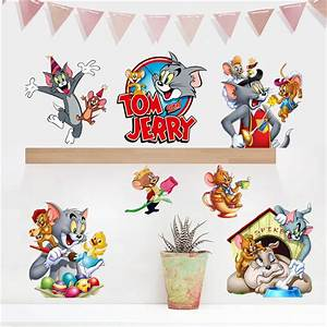 Aliexpresscom : Buy Removable 3d Tom And Jerry Wall ...