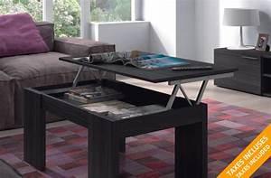 Table Basse Avec Plateau Relevable : table basse avec plateau 54 de rabais sur ~ Teatrodelosmanantiales.com Idées de Décoration