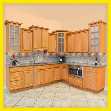 kitchen wood cabinets all wood kitchen cabinets 10x10 rta richmond ebay 3504