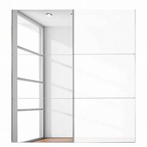 Schwebetürenschrank Weiß Hochglanz Spiegel : schwebet renschrank spiegel 200 cm preisvergleich die besten angebote online kaufen ~ Bigdaddyawards.com Haus und Dekorationen