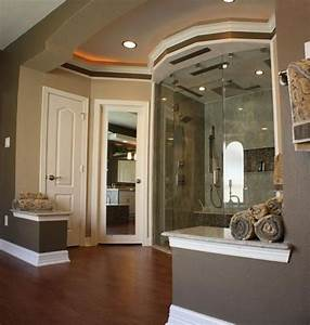 Transitional, Bathroom, With, Frameless, Clear, Glass, Shower