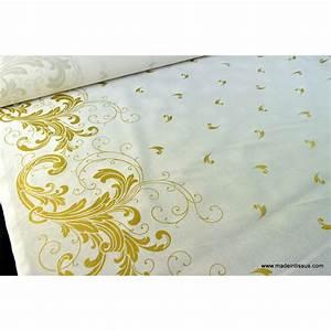 Tissu De Noel : tissu pour d coration nappes de noel x 1m made in tissus ~ Preciouscoupons.com Idées de Décoration