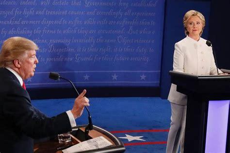 debate question hillary chose   answer
