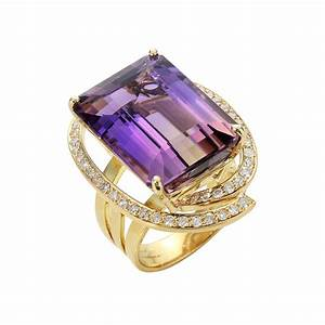 brasilian ametrine ring graziela gems With ametrine wedding ring