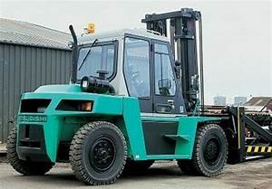 Mitsubishi Fd80n Fd90n Forklift Trucks Service Repair