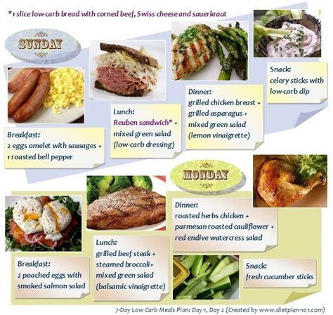 day  carb meals plan    diet plan