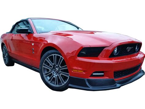 Ford Mustang Red Transparent Background Car