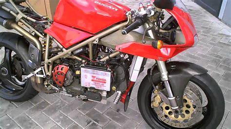 1995 Ducati 916 Engine + Arrow Exhaust Sounds !!