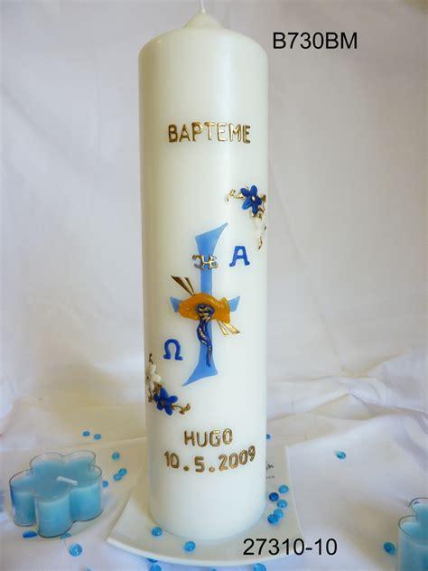 bougies de bapt 234 me bougies et cierges personnalis 233 s 5 bougies bach