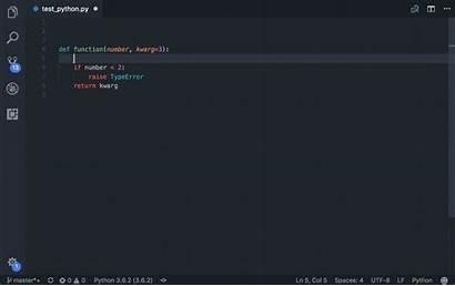 Python Visual Studio Code Indent Medium