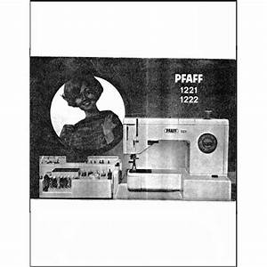 Instruction Manual  Pfaff 1222   Sewing Parts Online