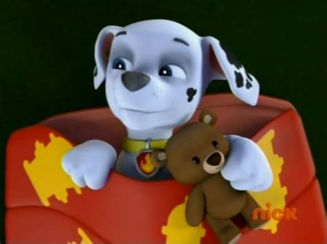 Marshall And His Cute Widdle Teddy Bear.png