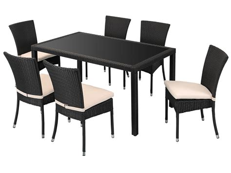 chaise plastique noir awesome table de jardin plastique noir contemporary