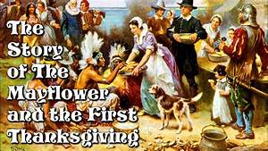 the story of the mayflower and the thanksgiving for