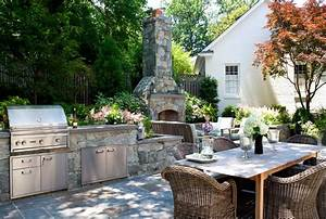 Outdoor Fireplace - Olney  Md