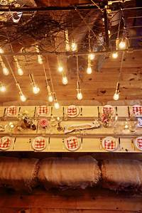 how to throw a barn party with or without a barn With barn party lights