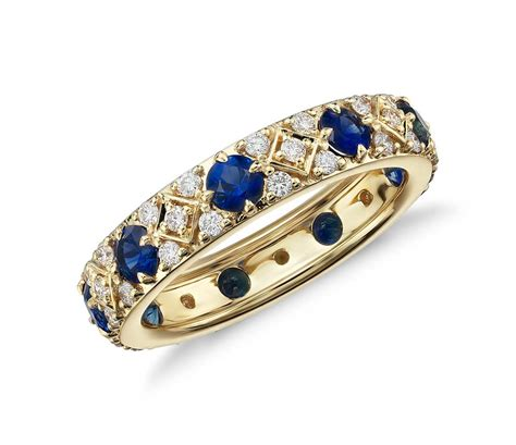Sapphire And Diamond Eternity Ring In 18k Yellow Gold. Grand Watches. Fancy Sapphire. Mint Green Watches. Gummy Bracelet. Heartbeat Pendant. Scorpio Rings. Looking Watches. Life Rings