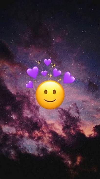 Emoji Iphone Gambar Wallpapers Vibes Funny Emojis