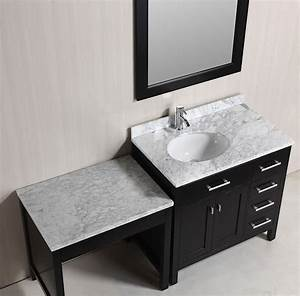 """36"""" London Single Sink Vanity Set in Espresso with One"""