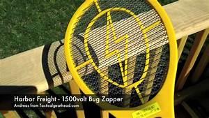 Harbor Freight Bug Zapper