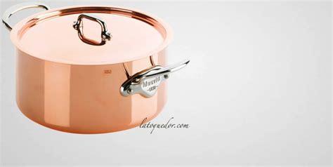 batterie de cuisine cuivre braisière cuivre inox mauviel m 39 150s batterie de cuisine cuivre inox mauviel m 39 150 la toque d 39 or