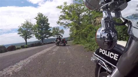 Why Police Ride The Harley Davidson.