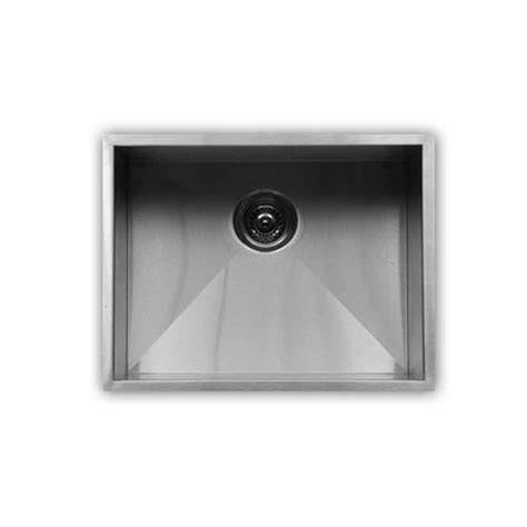 karran elite le 53 single undermount bowl stainless steel sink
