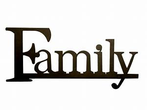 family clip art free printable clipart panda free With family letter sign