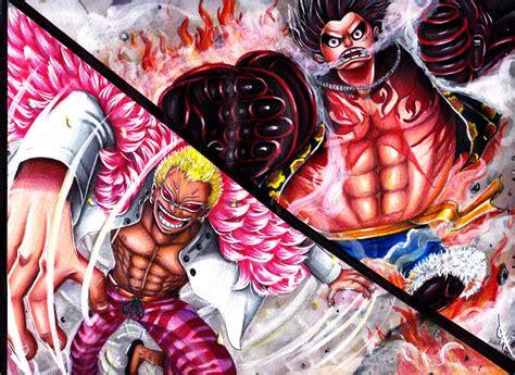 Luffy Gear 4 Vs Mingo By Shineangie On Deviantart