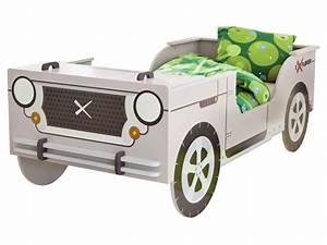 Lit Enfant Voiture : lit voiture 90x190 200 cm little rock vente de lit enfant conforama ~ Preciouscoupons.com Idées de Décoration