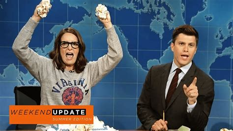 Weekend Update Tina Fey On Protesting After