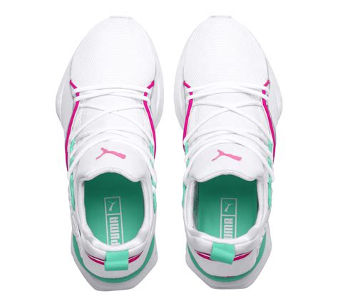 puma muse maia street knockout pink biscay green sbd