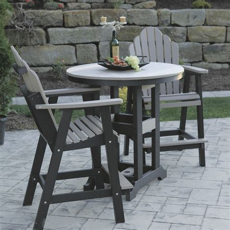 Outdoor Table Set by Furniture Traditional Bar Height Patio Set For Stylish