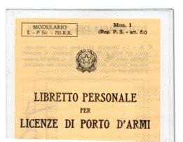 Permesso Porto D Armi by Porto D Armi La Pendenza Di Un Procedimento Penale Non 232