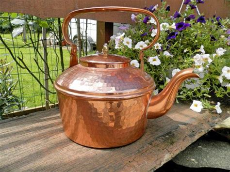 country kitchen kettle vintage copper pan copper kettle vintage 2826