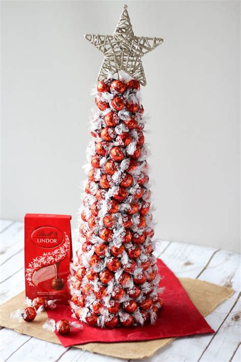 diy lindt chocolate truffle tree flourless chocolate