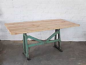 Loft Industrie Design Möbel : vintage industrie tisch works berlin restauriert und verkauft original vintage ~ Bigdaddyawards.com Haus und Dekorationen