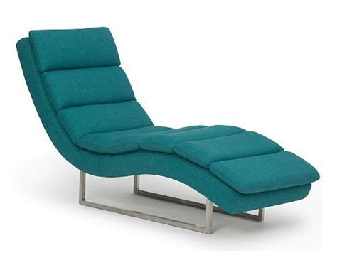 chaise longue salon teal fiona lounge chair decor furniture