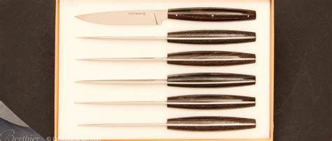 Set of 6 BASICS table knives by Christian Ghion   Buy