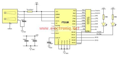 usb to serial converter circuit