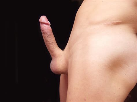 My Shaved Cock Full Erect With Cum Hq Picture 5
