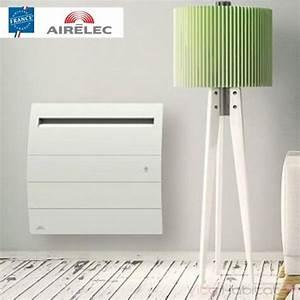 Radiateur Electrique 1000w : radiateur lectrique airelec noveo 2 smart ecocontrol ~ Melissatoandfro.com Idées de Décoration