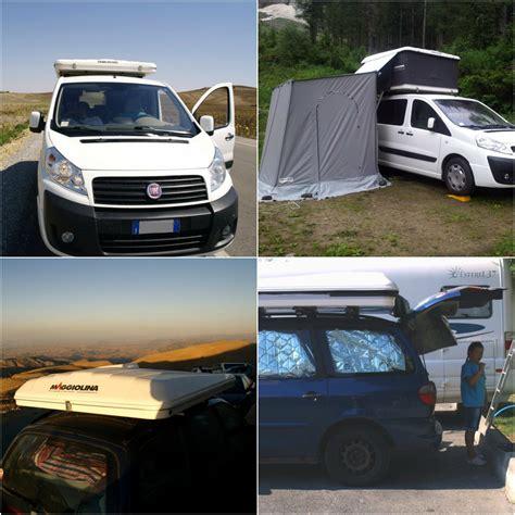 maggiolina tenda viaggiare con la maggiolina allestimento pro e contro