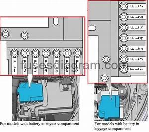 Fuse Box Diagram Audi A1