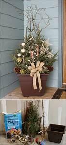 Creative Christmas Lights 14 Rustic Diy Christmas Decor Ideas For Front Porch