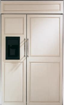 monogram zisbdx   built  side  side refrigerator  spillproof glass shelves
