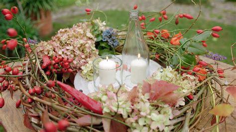 Herbstdeko Aus Dem Garten by Selbst Gemacht Herbstdekoration Aus Dem Garten Ndr De